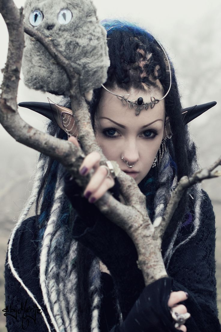 Elf. by Psychara.deviantart.com on @DeviantArt