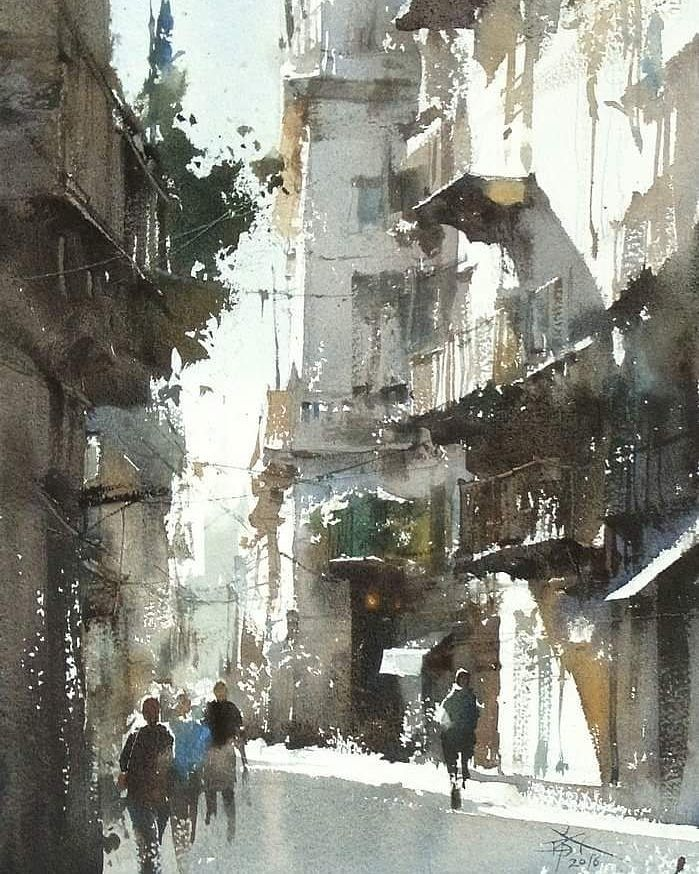 Best Watercolor Arts On Instagram Watercolor By Chung Wei Chien