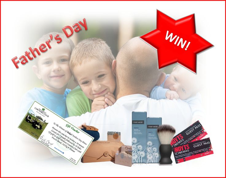 Enter to win: Fantastic Father's Day Giveaways!   http://www.dango.co.nz/s.php?u=9NkbvuX02283