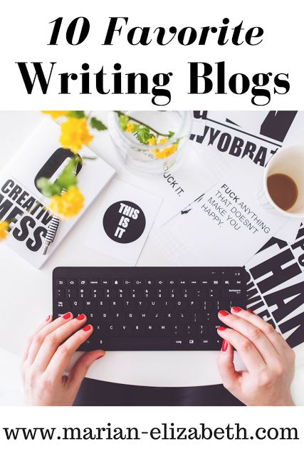 In this blog post I recommend ten of my favorite writing blogs and explain why I like them.