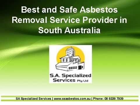 Through this video you can find the best and safe Asbestos Removal Service provider in South Australia. For more info related to Asbestos Removal please visit: http://www.ssasbestos.com.au/asbestos-removal-adelaide-south-australia