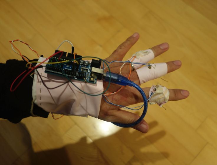 Music glove prototyping| How to connect Arduino and Processing