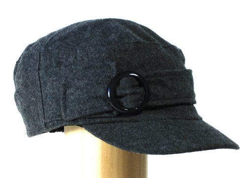 #Black #Knitted Newsboy Cab Driver Hat with side #buckle   love this hat!   http://amzn.to/HmNFKB