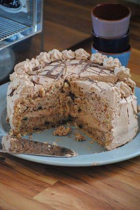 Torte, vegan, backen, selbst, Nuss, Nougat, einfach, LeHa, Schlagfix