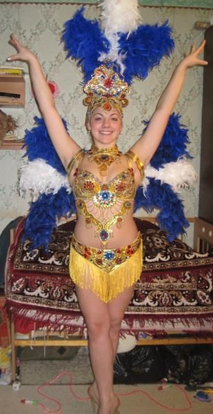 Сообщение про танцевальные костюмы самба
