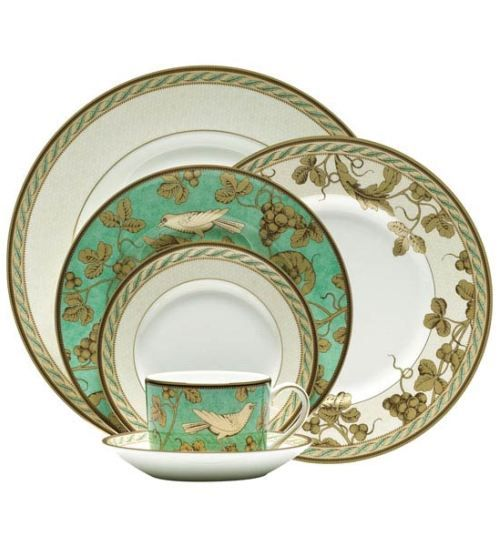 Wedgewood golden bird china birds tableware for Wedgewood designs