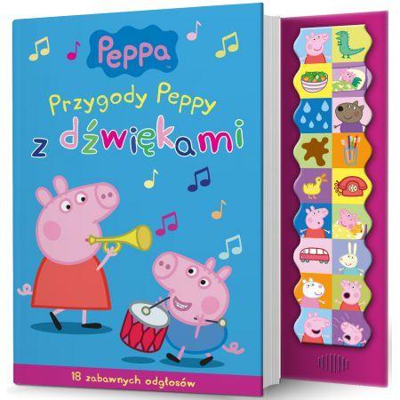 Chrum, chrum! Kwik, kwik! Peppa i jej przyjaciele zapraszają do wspólnej zabawy ze śmiesznymi dźwiękami. Przekonaj się, że nawet deszczowy dzień może być początkiem