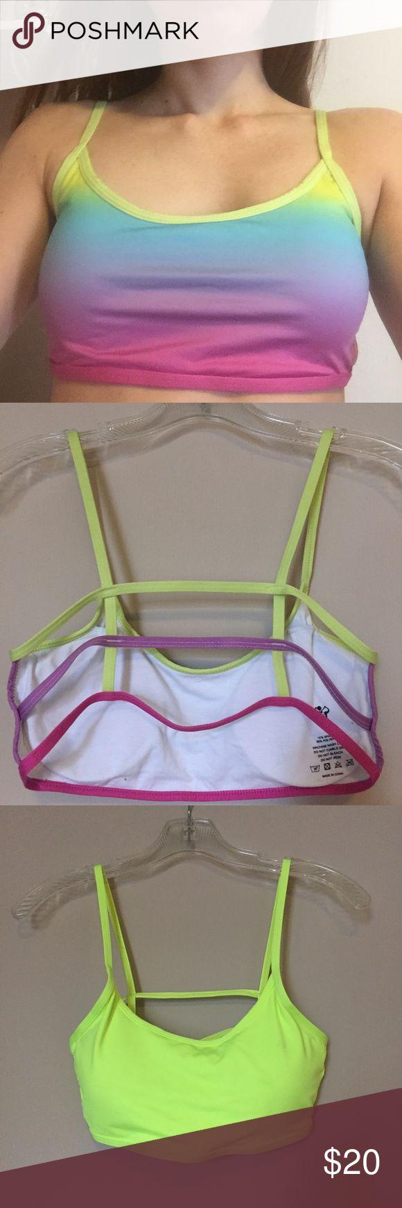Flex I Lexi Sports bras Light pads , sexy back flexi lexi Tops Crop Tops