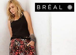 La collection féminine et colorée de l'été soldée jusqu'à -60% chez BREAL