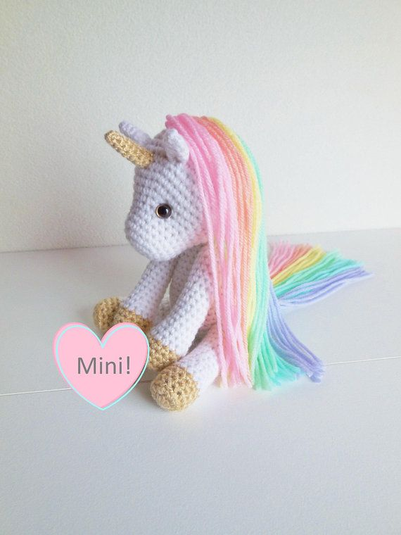 PDF Crochet Pattern, PDF Unicorn Crochet Pattern, PDF Amigurumi ... | 760x570