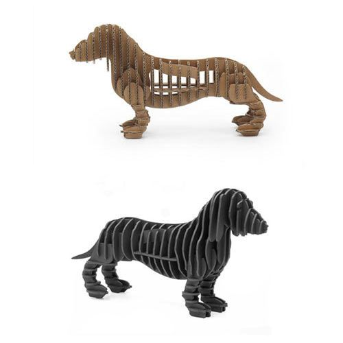 3D Dog Puzzles by Animi Causa. Perfect for the modern dog-friendly home. #dog #accessories