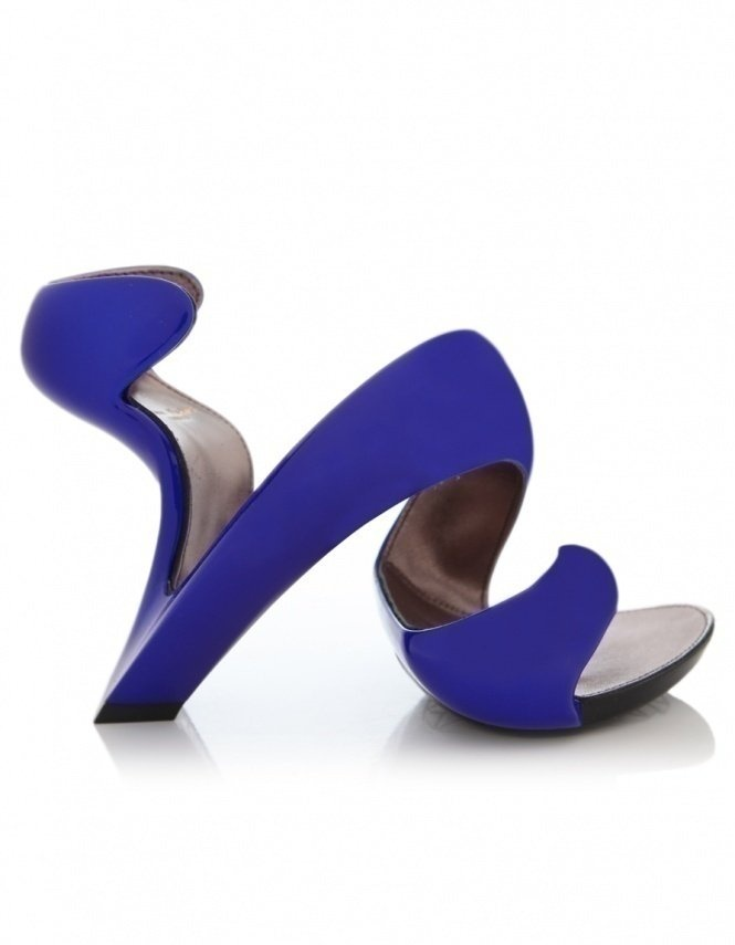 Blue Mojito Metallic Shoes. Weirdest shoes maybe ever? I kind of.. adore these.