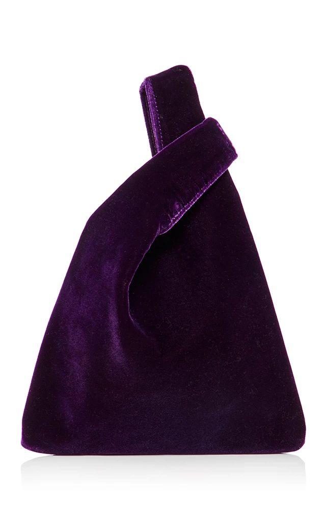 Hayward Velvet Mini Shopper €546 open tote
