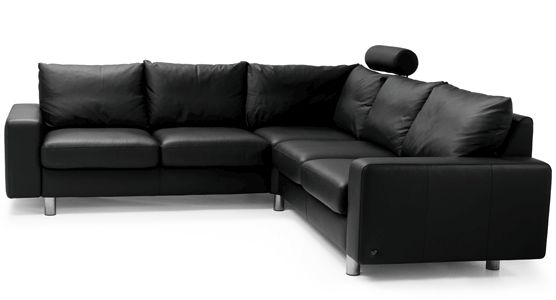 Stressless E200 Corner Sofa Modern Recliner Leather Sofa