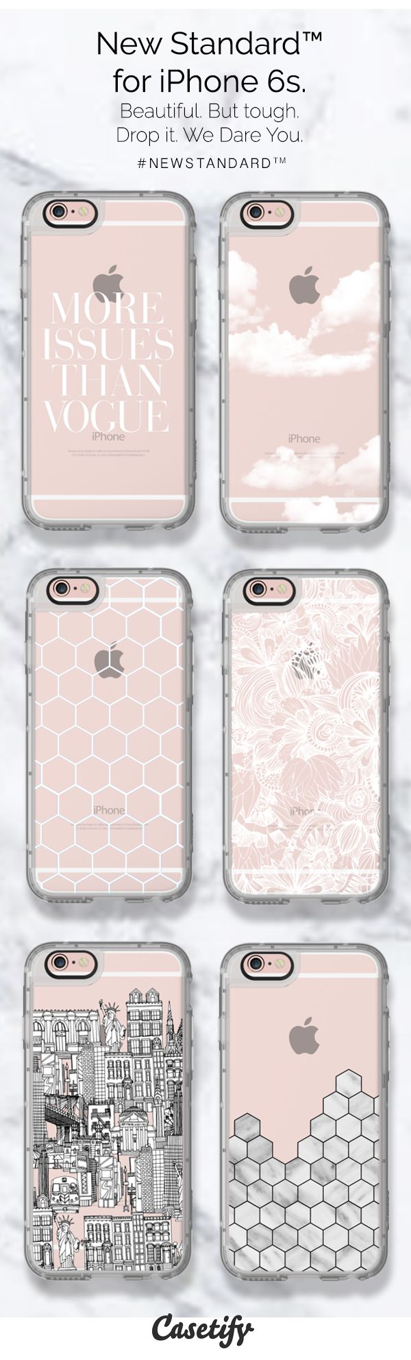 Top 6 minimalist protective iPhone 6s phone cases | Click through to see more marble phone case ideas >>> http://www.casetify.com/artworks/ynBAfffVgB | @casetify