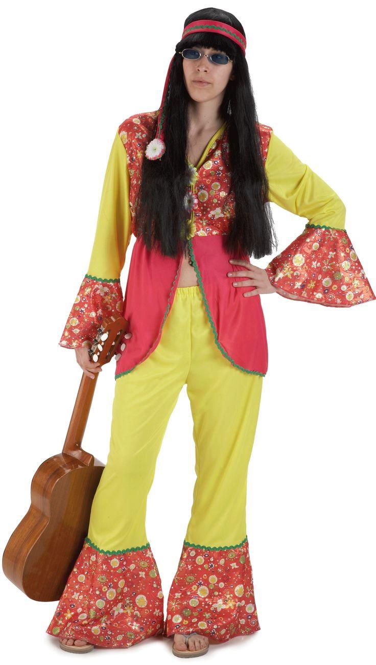 Best 25 disfraz hippie mujer ideas on pinterest moda for Disfraz de hippie