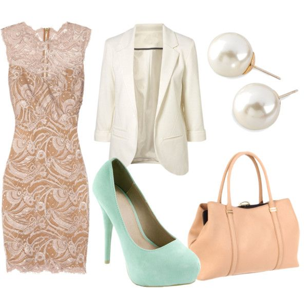 My type of outfit ! Mint shoes <3