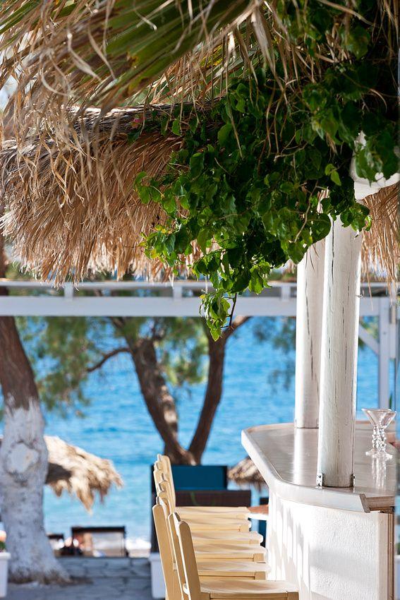 Kamari beach, Santorini island, Greece. - selected by www.oiamansion.com