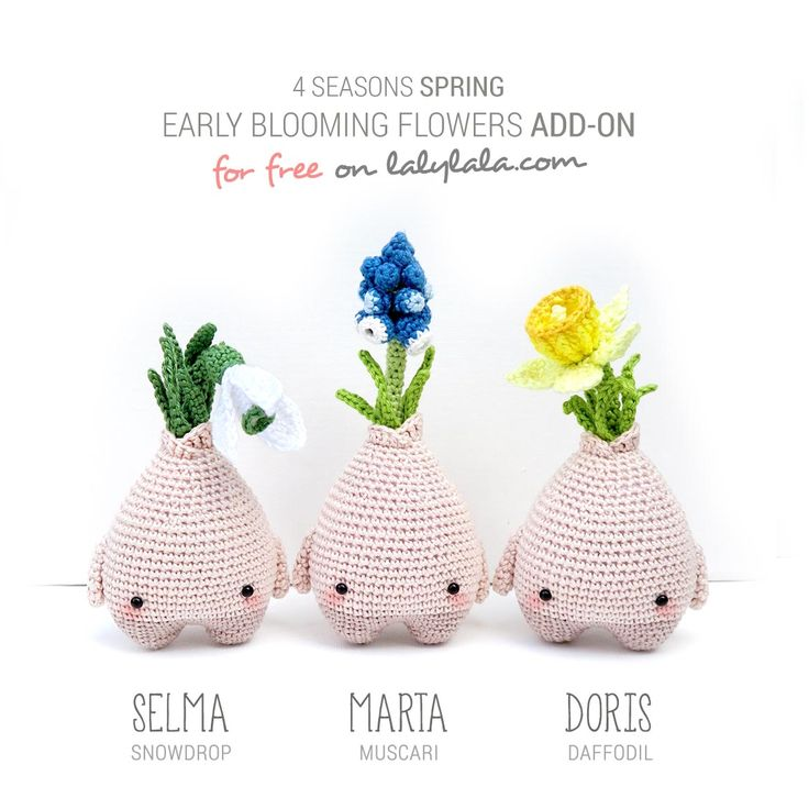 Free pattern spring bulbs