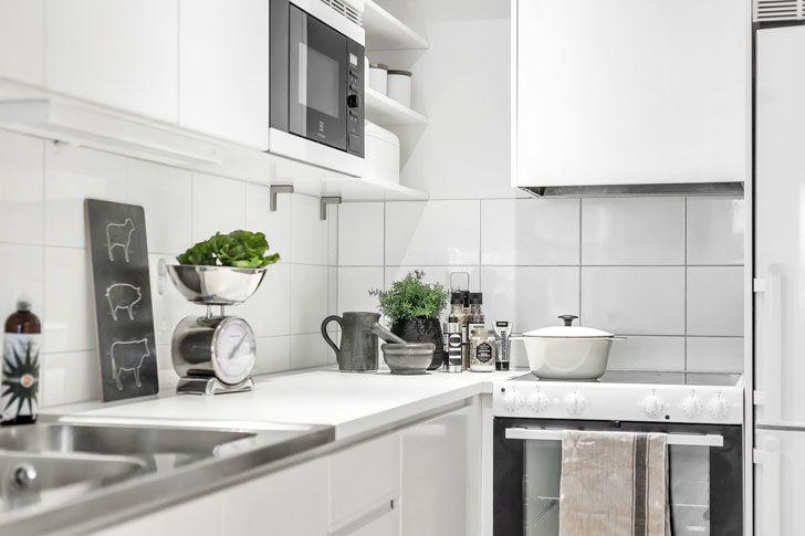 Еще один очень компактный дом в Швеции (48 кв. м)   Дизайн небольшого дуплекса фото