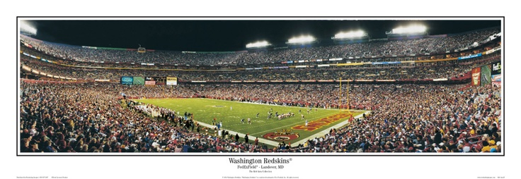 FedEx Field, Washington D.C. Love the Redskins games!
