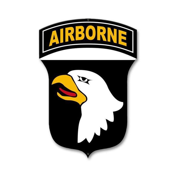 101st Airborne Division Sign