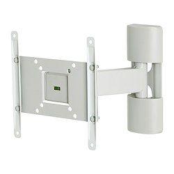 ~ UPPLEVA Wall bracket för TV, tilt/swivel - IKEA $35.00 use this to hold a makeup mirror over a vanity.
