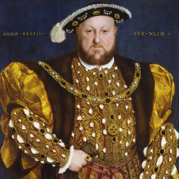 Gallerie Nazionali Barberini Corsini - Hans Holbein il giovane (Augusta 1497 – Londra 1543) - Ritratto di Enrico VIII