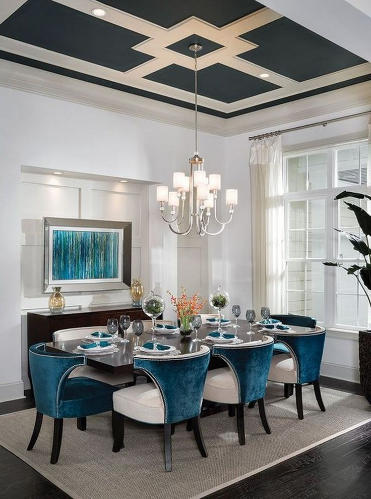 35+ Popular Dining Room Design Ideas for your Dream House - Page 29 of 32
