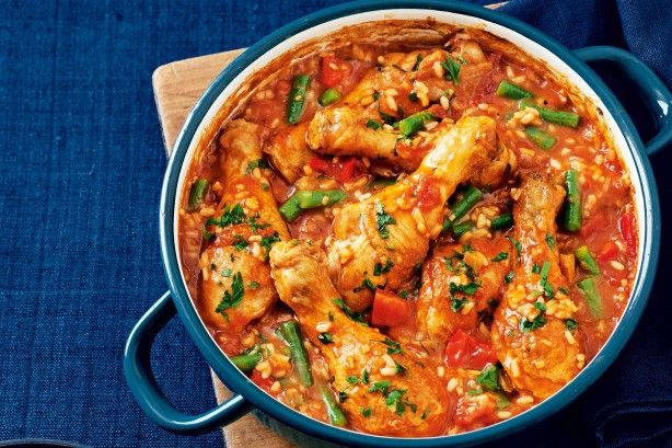 Slow-cooker paprika chicken main image