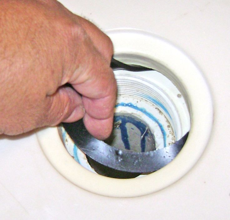 How To Fix A Leaky Shower Drain Photo Tutorial. Clean The Shower Drain,  Install