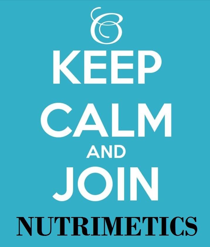 Words of wisdom check out my website on www.nutrimetics.com.au/melnolan