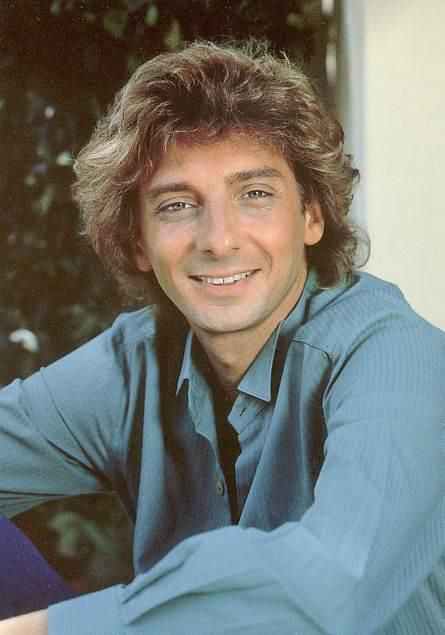 Barry Manilow chilling out.
