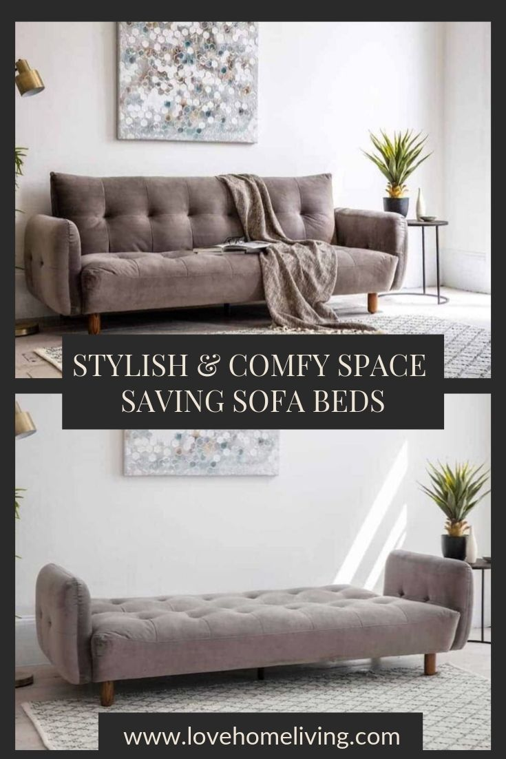 Our simple yet stylish space saving sofa beds make…