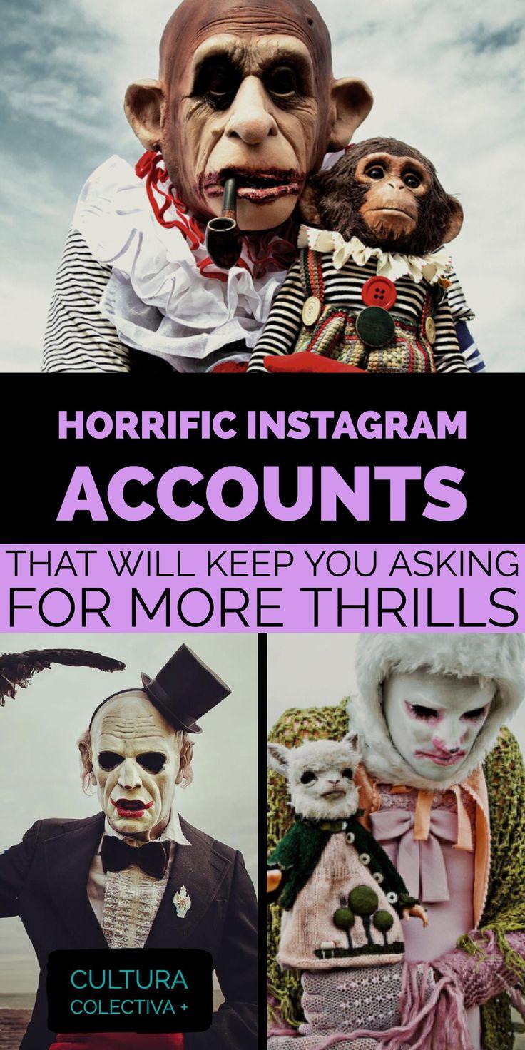 Horror art instagram accounts