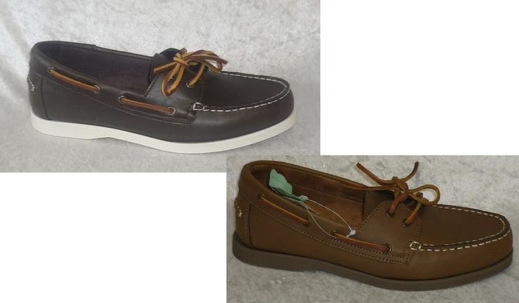 Sonoma Boat Shoes man made multi solid men's size 8, 9, 10.5 12 NEW #Sonoma #BoatShoes