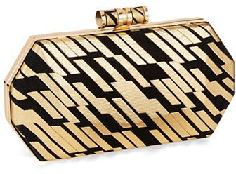 SERGIO FERETTI Octagon Shaped Clutch on shopstyle.com