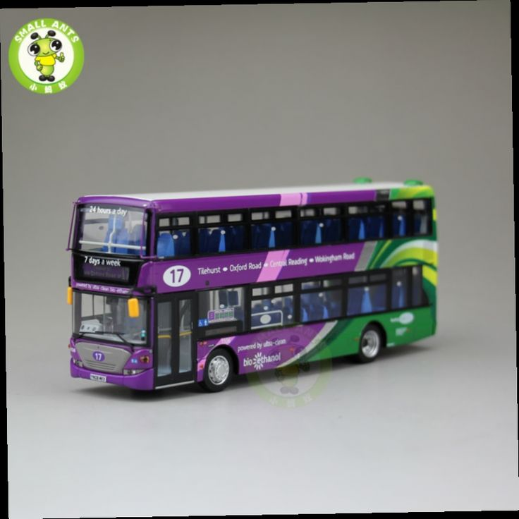 47.49$  Buy here - http://alizx6.worldwells.pw/go.php?t=32647293686 - 1:76 Scale Double Decker Bus Models,Reading Buses,Scania Omnicity,UKBUS9005