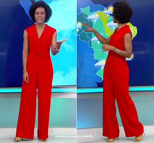 Red Jumpusit - Macacão vermelho sem mangas longo social vermelho | http://modaefeminices.com.br/2016/11/27/look-do-dia-macacao-longo-social-vermelho/