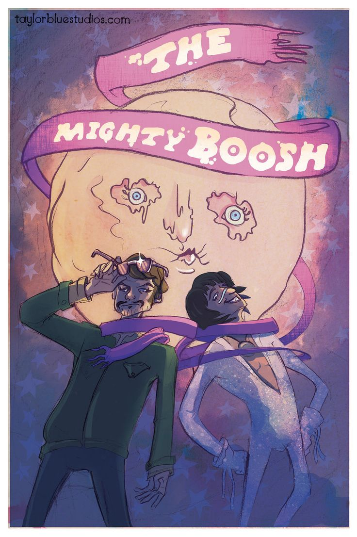The Mighty Boosh by Taylor-is-Blue