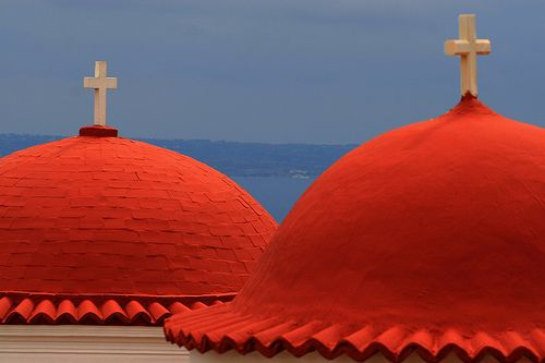 KALYMNOS Red domes