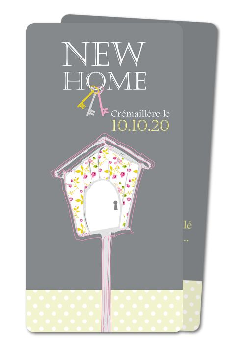 invitation cremaillere oiseau cremaillere rounded                                                                                                                                                                                 Plus