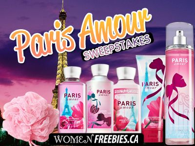 Win a Paris Amour Prize Pack from WomenFreebies