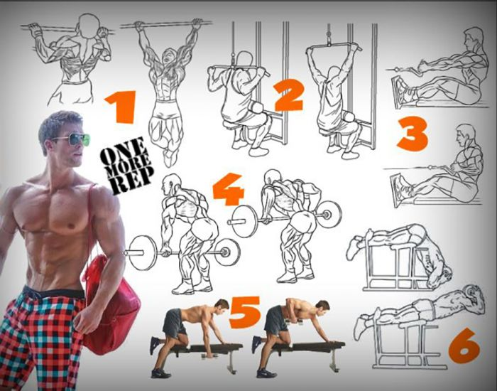 Day 3 : Full Back Workout - Fitness Training Health Body Lower
