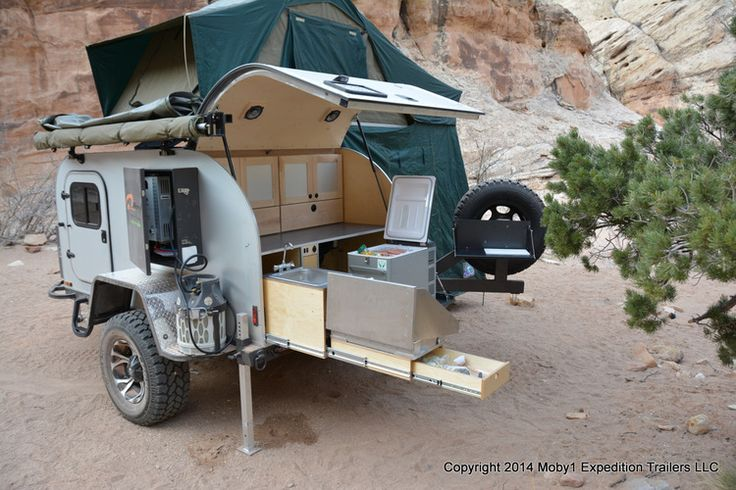 Moby1 XTR Teardrop Trailer — Moby1 Expedition Trailers LLC
