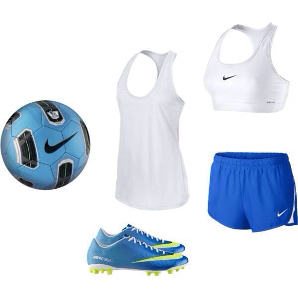 Girls soccer outfit