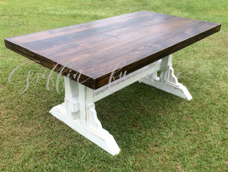 rustic picnic style kitchen table farm farmhouse benches reclaimed wood wooden