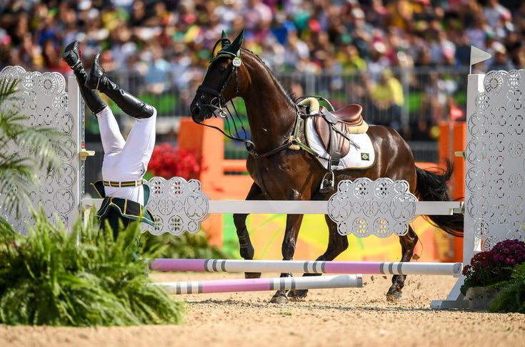 Stephen McCarthy/Getty Images Ruy Fonseca of Brazil, on Tom Bombadill Too, during the Eventing Team Jumping Final at the Olympic Equestrian Centre, Deodoro, during the 2016 Rio Summer Olympic Games.