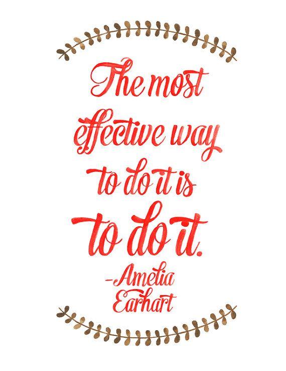 Amelia Earhart #quote