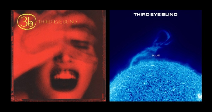 Just 5!  Third Eye Blind: Original Pressing of Blue & Self-Titled Albums on Vinyl  #3eb